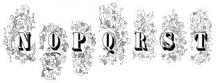 Grave Plus Font LOWERCASE