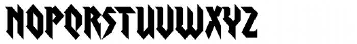 Graveblade Font LOWERCASE