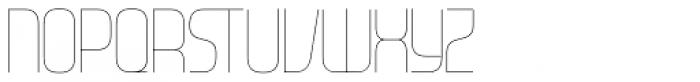 Gravel Light Font UPPERCASE