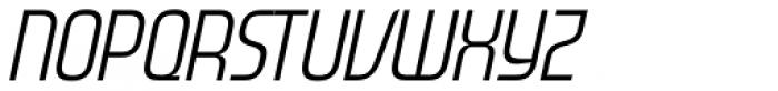 Gravel Medium Italic Font UPPERCASE