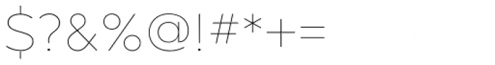 Gravesend Sans Fine Font OTHER CHARS