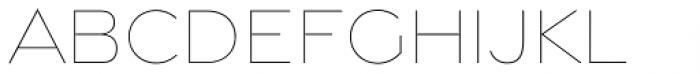 Gravesend Sans Fine Font UPPERCASE