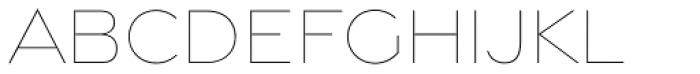 Gravesend Sans Fine Font LOWERCASE