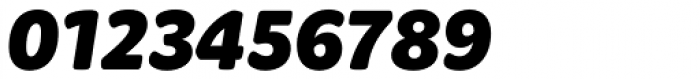 Graviola Soft Black Italic Font OTHER CHARS