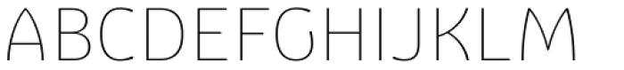 Graviola Soft Thin Font UPPERCASE