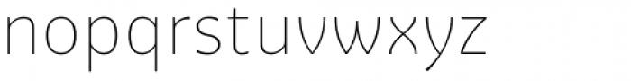 Graviola Soft Thin Font LOWERCASE