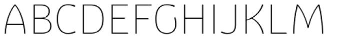Graviola Thin Font UPPERCASE