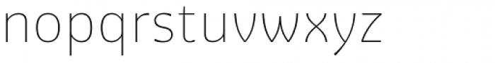 Graviola Thin Font LOWERCASE