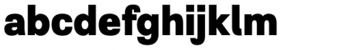 Grayfel Con Extra Bold Font LOWERCASE