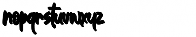 Great Authorized Bold Extrude Font LOWERCASE