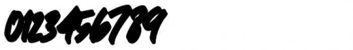 Great Authorized Italic Extrude Font OTHER CHARS