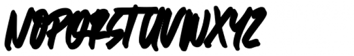 Great Authorized Italic Extrude Font UPPERCASE