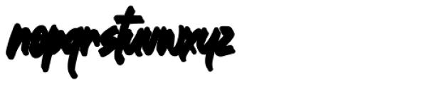Great Authorized Italic Extrude Font LOWERCASE
