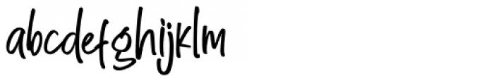 Great Authorized Regular Font LOWERCASE