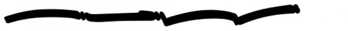 Great Authorized Swashes Extrude Font UPPERCASE