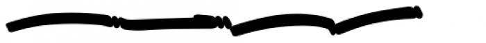 Great Authorized Swashes Extrude Font LOWERCASE