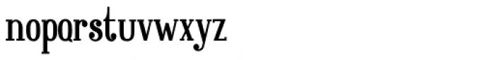 Great Brington Regular Font LOWERCASE