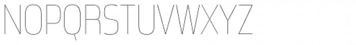 Great Escape Narrow UltraLight Font UPPERCASE