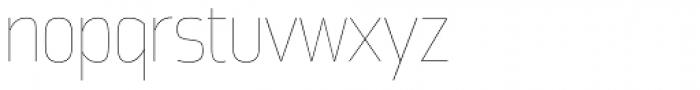 Great Escape Narrow UltraLight Font LOWERCASE