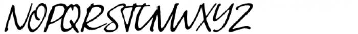 Greatest Fortune Script Font UPPERCASE