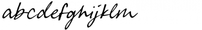 Greatest Fortune Script Font LOWERCASE