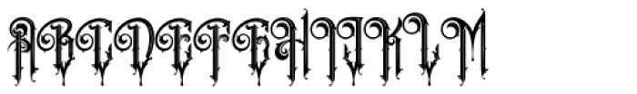 Greature Shine Font UPPERCASE