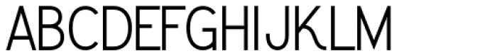 Greback Grotesque Medium Font UPPERCASE