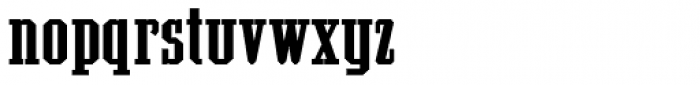 Grecian Bold Expanded Font LOWERCASE