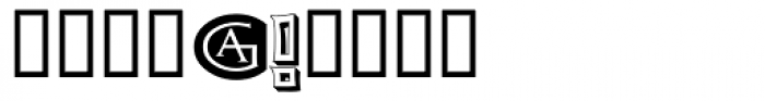 Grecian Empire Strikes Back Font OTHER CHARS