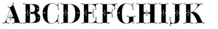 Green Fairy Full Combo Font UPPERCASE
