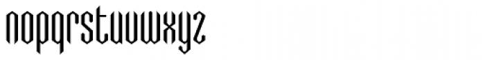 Greenbriar AEF320 Font LOWERCASE