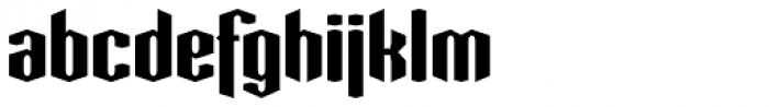 Greenbriar AEF360 Font LOWERCASE