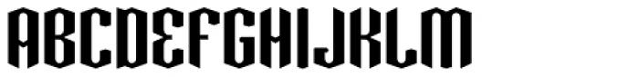 Greenbriar AEF540 Font UPPERCASE