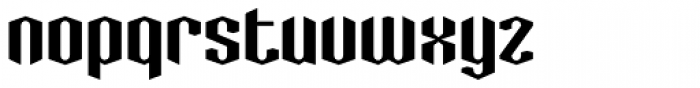 Greenbriar AEF540 Font LOWERCASE