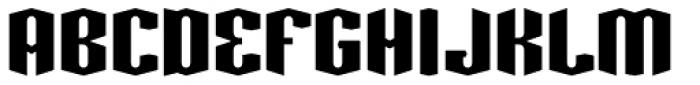 Greenbriar AEF560 Font UPPERCASE