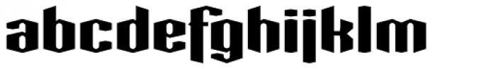 Greenbriar AEF560 Font LOWERCASE