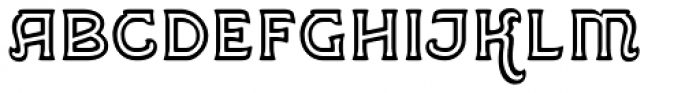 Greene And Hollins No2 Font LOWERCASE