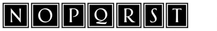 Greenleaf Banners Light Ltd Font UPPERCASE