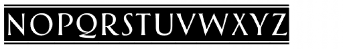 Greenleaf Banners Light Ltd Font LOWERCASE