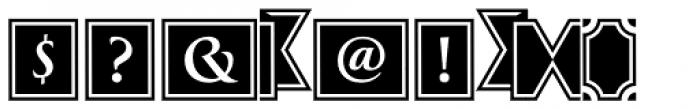Greenleaf Banners Regular Ltd Font OTHER CHARS