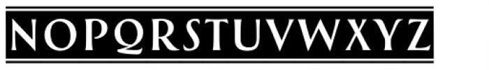 Greenleaf Banners Regular Ltd Font LOWERCASE