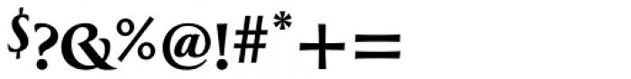 Greenleaf Bold Pro Font OTHER CHARS