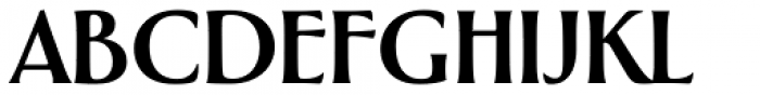 Greenleaf Bold Pro Font UPPERCASE