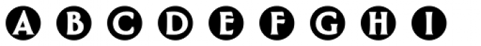 Greenleaf Buttons Ltd Font LOWERCASE