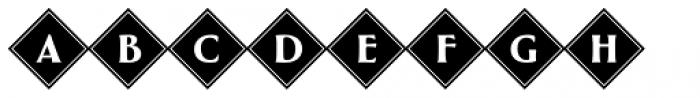 Greenleaf Diamonds Ltd Font UPPERCASE