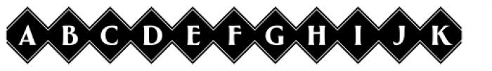Greenleaf Diamonds Ltd Font LOWERCASE