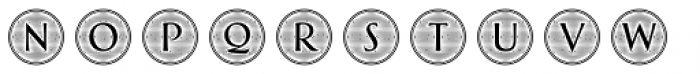 Greenleaf Engraved Two Ltd Font UPPERCASE