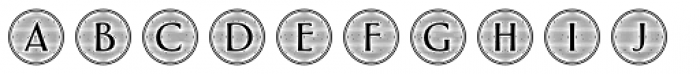 Greenleaf Engraved Two Ltd Font LOWERCASE