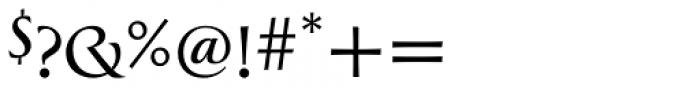 Greenleaf Light Pro Font OTHER CHARS