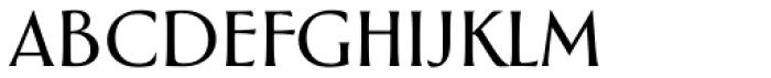 Greenleaf Light Pro Font LOWERCASE